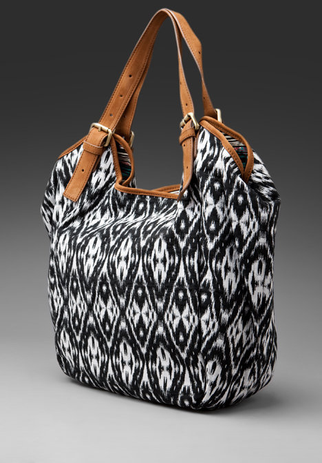 Twelfth Street By Cynthia Vincent Berkeley Printed Canvas Tote