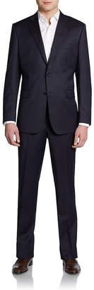 Saks Fifth Avenue Slim-Fit Solid Wool Suit