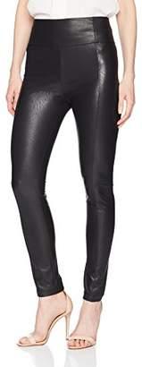 BCBGMAXAZRIA Women's Blossom Faux-Leather Legging