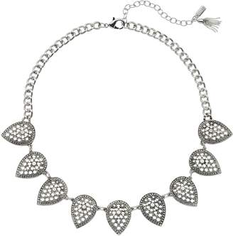 Vera Wang Simply Vera Filigree Leaf Necklace