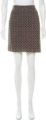 Ungaro Embroidered Mini Skirt