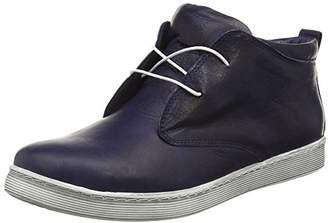 Andrea Conti Women's 0341522 Low-Top Sneakers Blue Size: