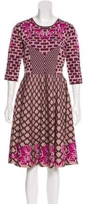 Temperley London Knit Midi Dress