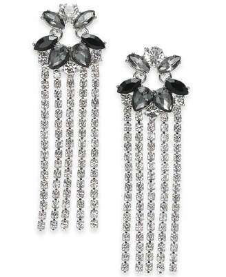 INC International Concepts I.n.c. Crystal Fringe Drop Earrings