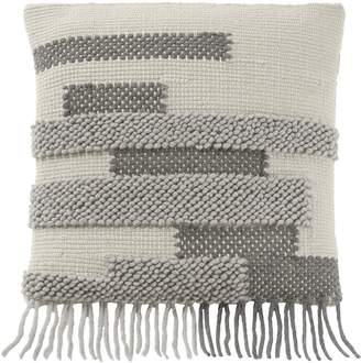 Pendleton Riviera Fringed Wool Accent Pillow