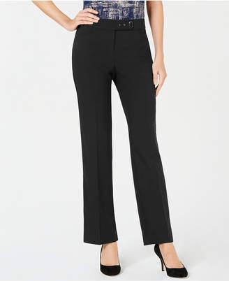 JM Collection Embellished Extend-Tab Pants