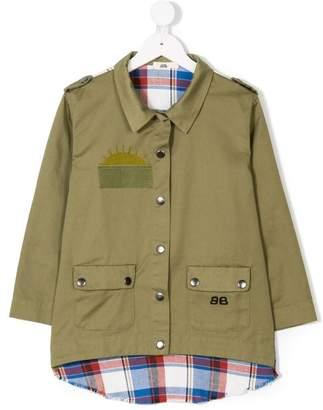 Bandy Button Trip coat