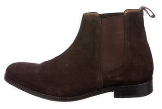 Grenson Suede Chelsea Boots