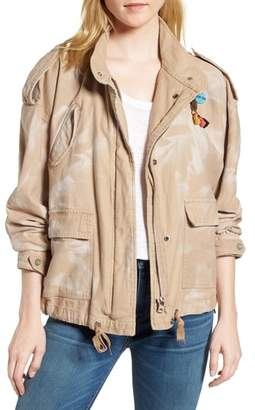 Scotch & Soda Oversize Military Jacket