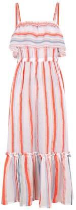 Lemlem Asha Striped Cotton-blend Maxi Dress