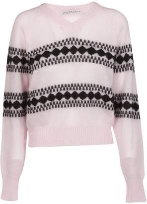 Philosophy di Lorenzo Serafini Intarsia Sweater