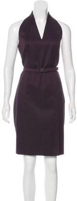 Akris Punto Racerback Knee-Length Dress
