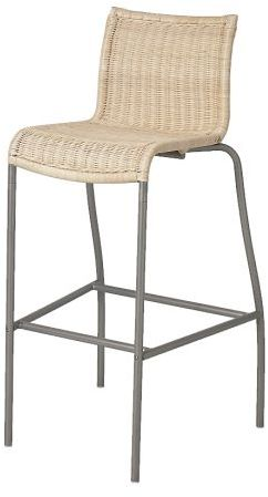 Cendy Bar stool with backrest