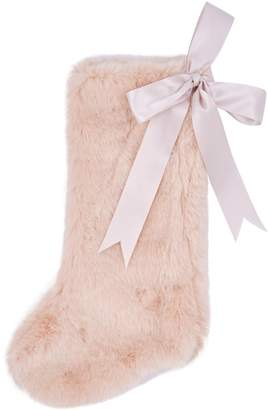 Harrods Faux Fur Stocking