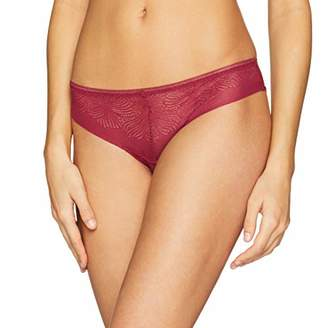 Wonderbra Women's Fabulous Feel Bresilien Brazilian Knicker,(Size: Large)