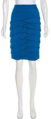 Yigal Azrouel Layered Knee-Length Skirt