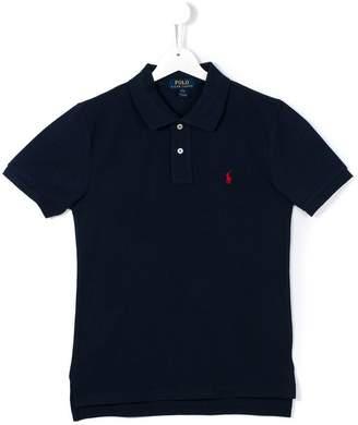 Ralph Lauren TEEN logo embroidered polo shirt