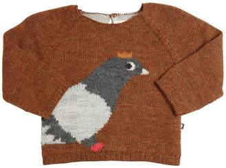 Oeuf Pigeon Baby Alpaca Tricot Sweater