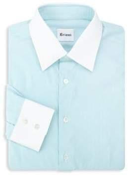 Brioni Contrast Dress Shirt