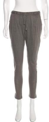 Etoile Isabel Marant Linen Skinny Pants