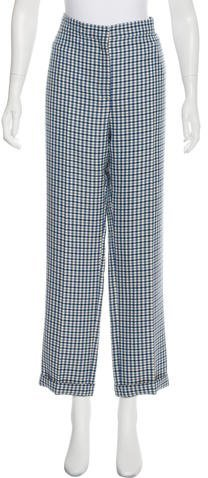 Christian Dior High-Rise Wool Pants w/ Tags