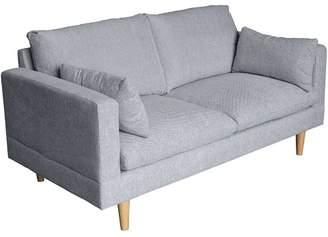 Silas Light Grey 2 Seater Sofa