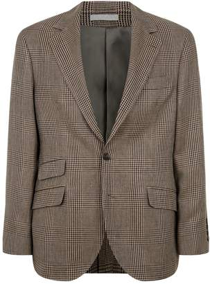 Brunello Cucinelli Prince of Wales Check Blazer