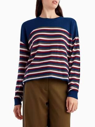 Knit Stripe Pullover