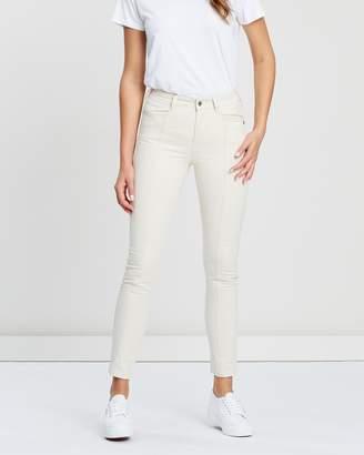 Maison Scotch Seamed High-Rise Skinny Jeans