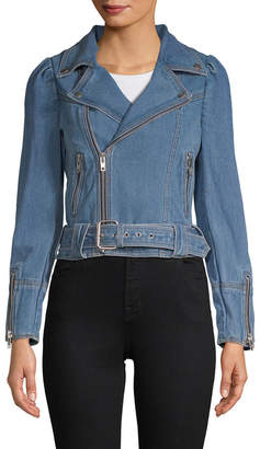 Manoush Denim Biker Jacket