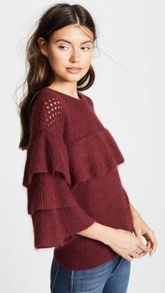 Endless Rose Ruffle Sleeve Sweater
