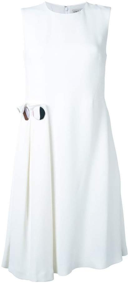 Emilio Pucci sleeveless wrap dress