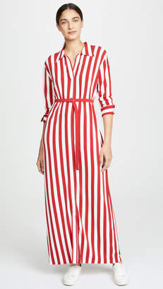 Norma Kamali Long Shirt Dress