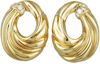 Van Cleef & Arpels Heritage  18K 0.39 Ct. Tw. Diamond Earrings