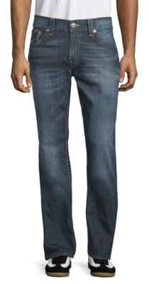 True Religion Slim-Fit Flap Pocket Jeans