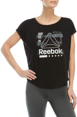 Reebok Limitless Logo Boxy Tee