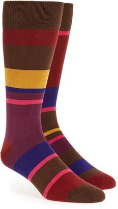 Men's Paul Smith Stripe Socks $30 thestylecure.com