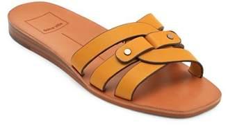 Dolce Vita Women's Cait Leather Slide Sandals