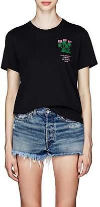 "Off-White Women's ""No Doubt"" Cotton Jersey T-Shirt - Black"