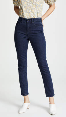 Rebecca Taylor Ines Acid Wash Jeans