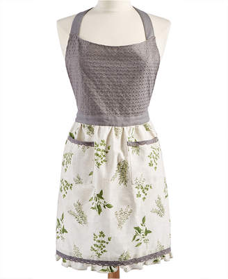 Martha Stewart Collection Farmhouse Apron, Created for Macy's