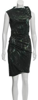 Lanvin Sleeveless Sheath Dress green Sleeveless Sheath Dress