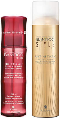 Alterna Bamboo Style Dry Finishing Spray and Volume 48 Hour Spray Duo (Worth 45.50)