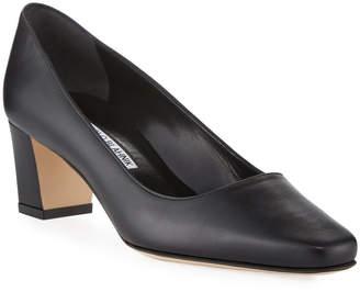 770db09af6d Manolo Blahnik Black Block Heel Heels - ShopStyle Canada