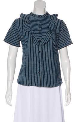 Ace&Jig Striped Short Sleeve Top w/ Tags