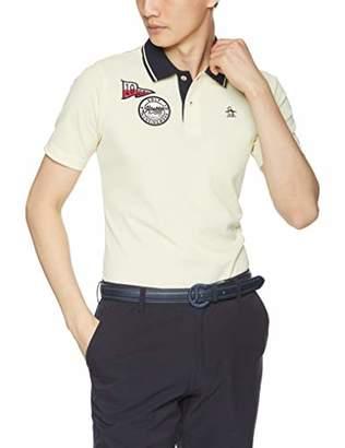 Munsingwear (マンシングウェア) - [マンシングウェア] 半袖シャツ(ニット) MGMNJA32 メンズ YL00(イエロー) 日本 LL (日本サイズ2L相当)