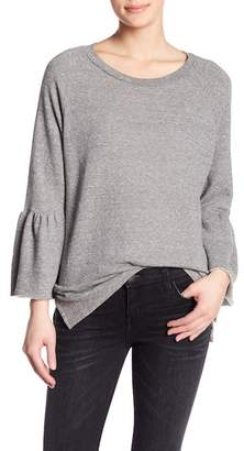 Current/Elliott Ruffle Sleeve Pullover
