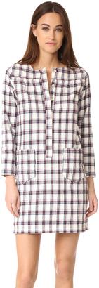 A.P.C. Athina Dress $325 thestylecure.com