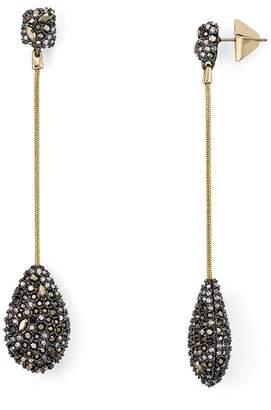 Alexis Bittar Pavé Teardrop Drop Earrings
