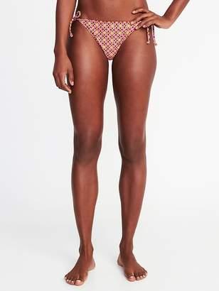 Old Navy String-Bikini Swim Bottoms for Women